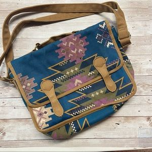 Mossimo Supply Co Tribal Print Messenger Bag